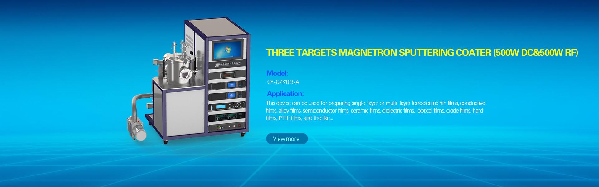 Magnetron Sputter coating