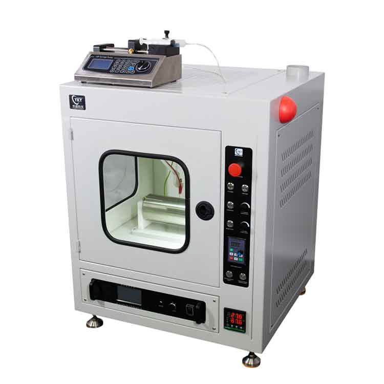 Nano fiber double spinning and yarning system CY-NFES-SYS
