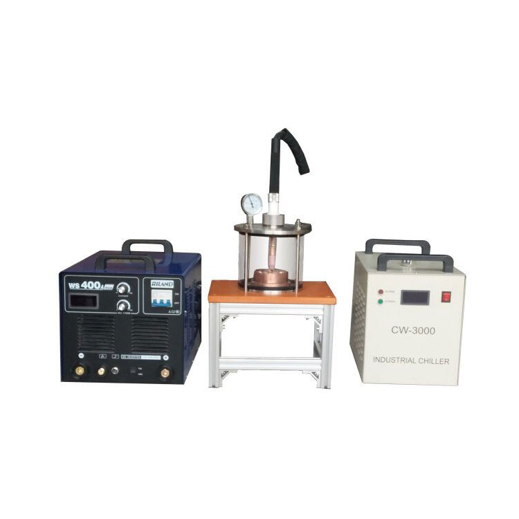 Compact Vacuum Arc Melting System with Vacuum Casting Mold for 6mm Dia. Rod CY-208