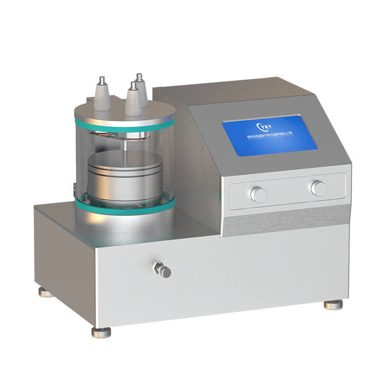 3 heads compact RF plasma magnetron sputtering coater