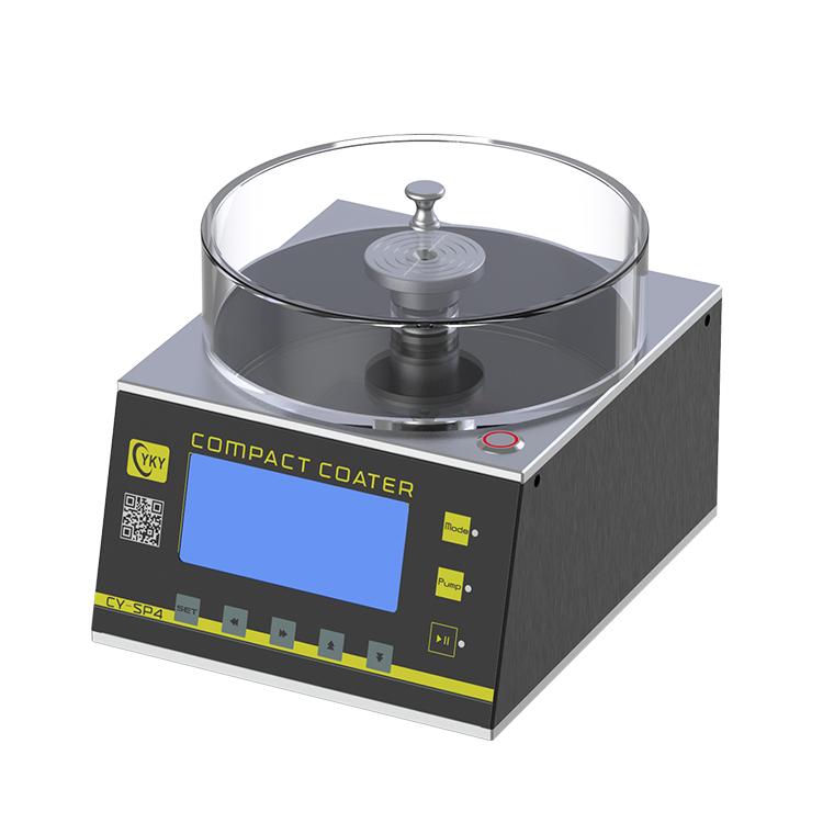 Small desktop precision spin coating machine