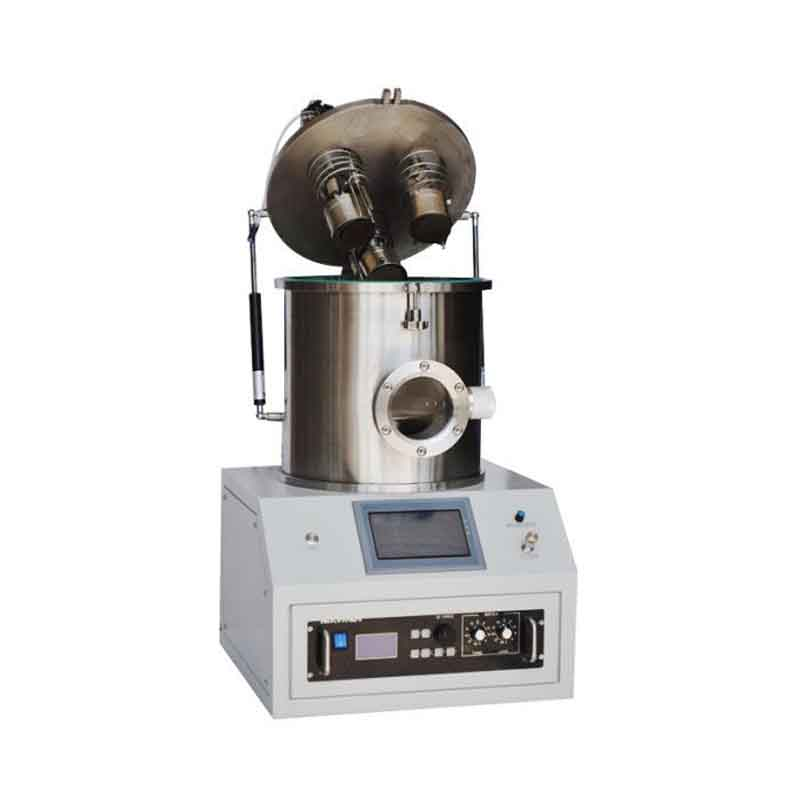 "3 Heads Compact 1"" RF Plasma Magnetron Sputtering Coater, with DC Magnetron Sputtering Option"