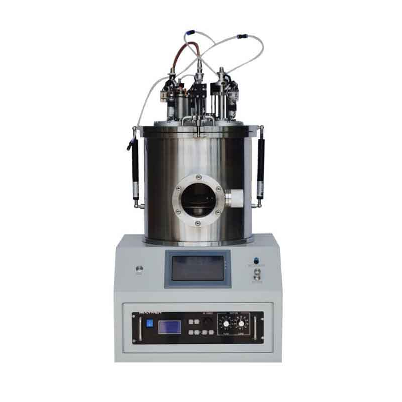 High Power Desktop Magnetron Plasma Sputtering Coater with 3 Rotary Target