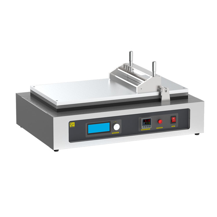 Automatic tape casting film coater with adjustable doctor-blade