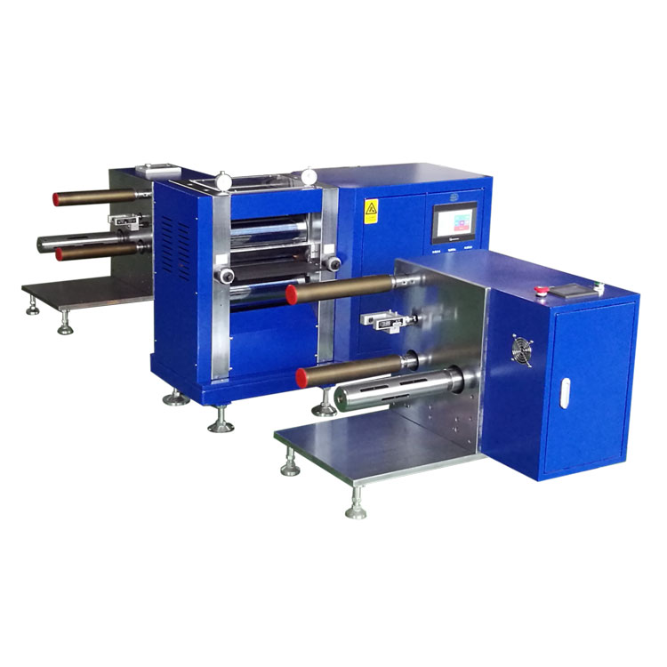 Benchtop heating roll-to-roll tape casting system with electrostatic dust remover