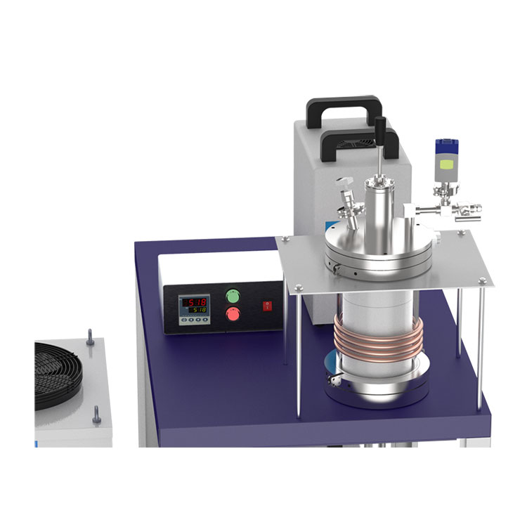 15KW 1700℃ Max. Vacuum Induction Heater with Material Feeding Ante-chamber & Melt Stirring Mechanism