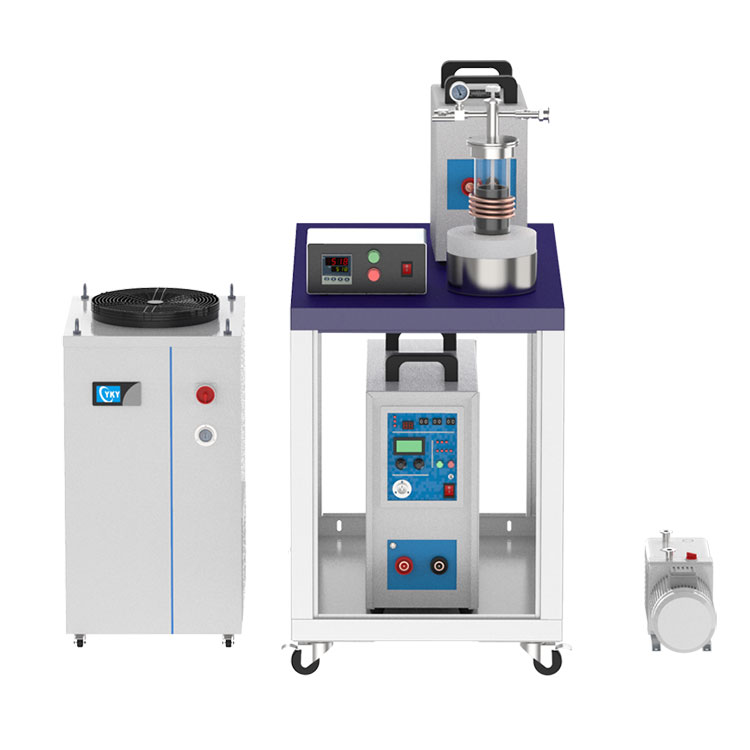 15KW Vacuum Induction Melting System up to 2000℃ with Complete Accessories