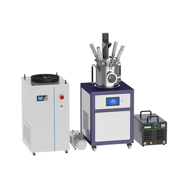 Single crystal growth furnace with four electrodes Arc melting up to 3000℃