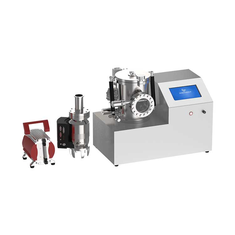High vacuum plasma sputter & thermal evaporation two-in-one coating machine