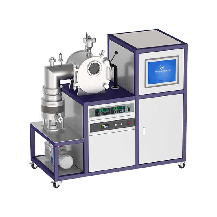 35KW vacuum induction melting furnace with stainless steel water-cooled chamber