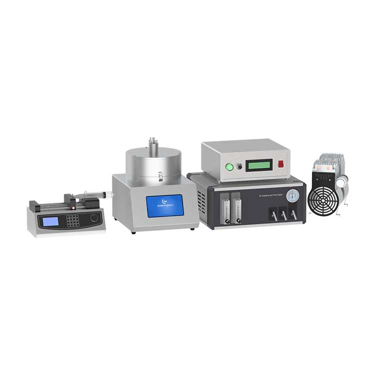 Fully automatic ultrasonic assisted atmosphere heating spin coater