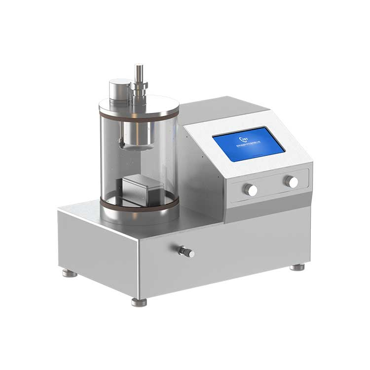 Desktop single target magnetron sputtering coater with reciprocating sample table