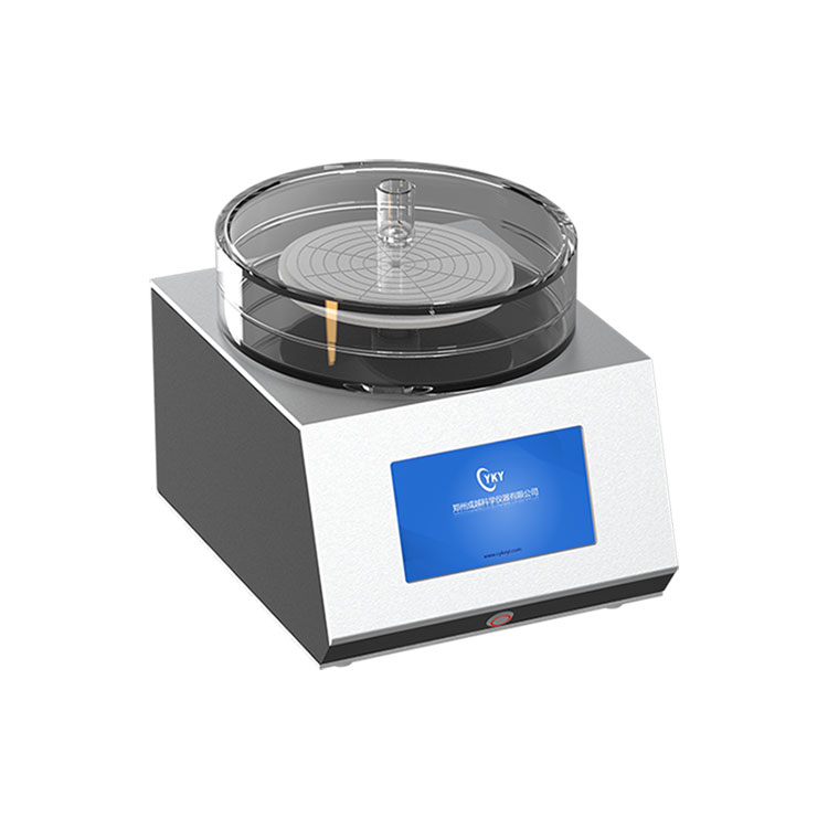 Desktop 8 inches spin coater with acrylic chamber
