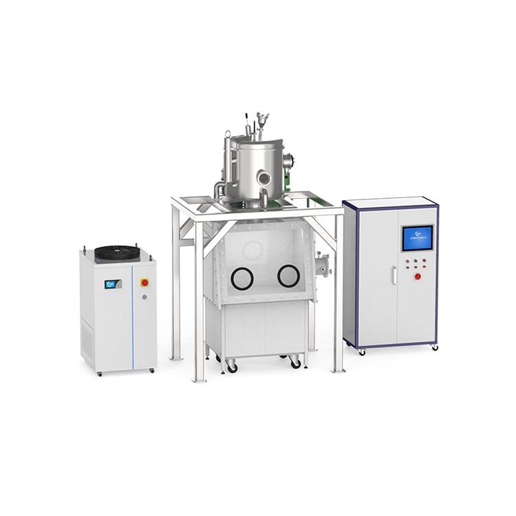 40kg Vacuum indium alloy melting furnace