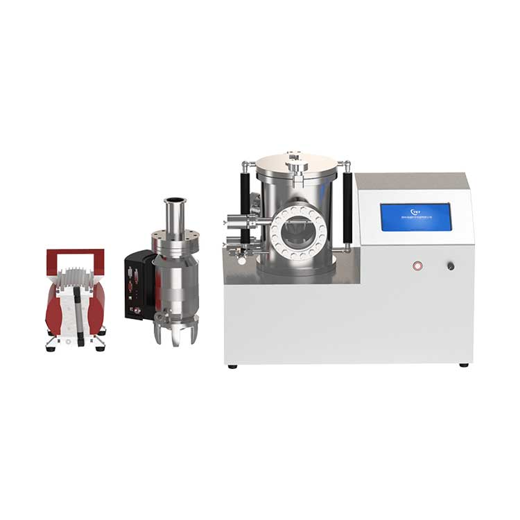 Small high vacuum two-in-one film coater