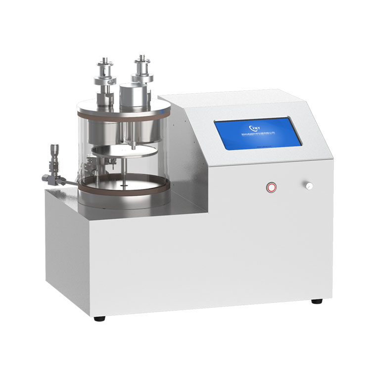 Dual sputter sources plasma sputtering coater with rotary sample stage CY-PSP180G-2TA-RS