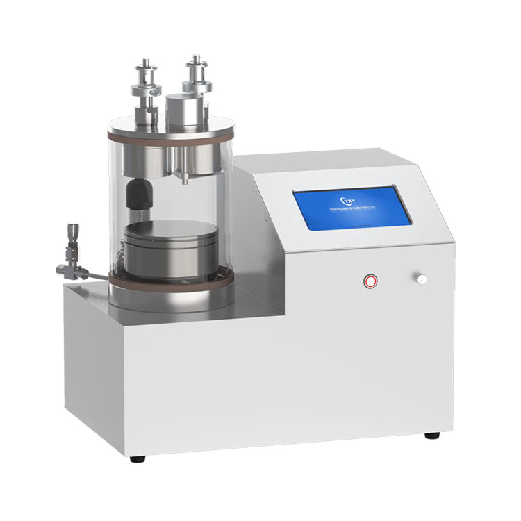 Dual heads plasma sputtering coater with rotary heating sample stage CY-PSP180G-2TA-RSH