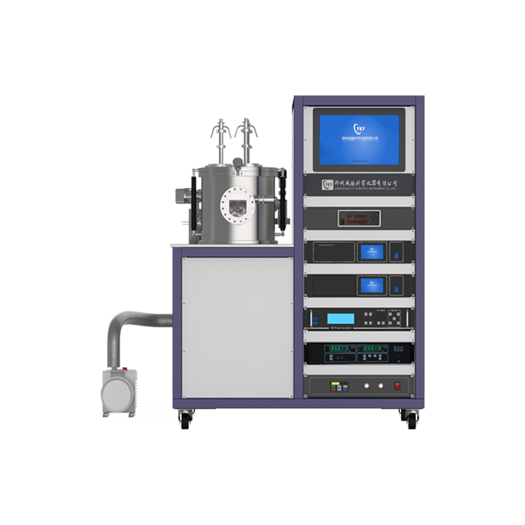 Three targets magnetron sputtering coater (500W DC&500W RF)