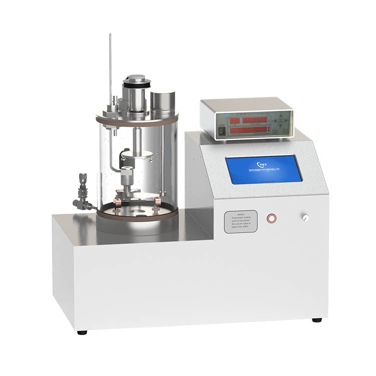 Small temperature-controlled evaporation coating machine