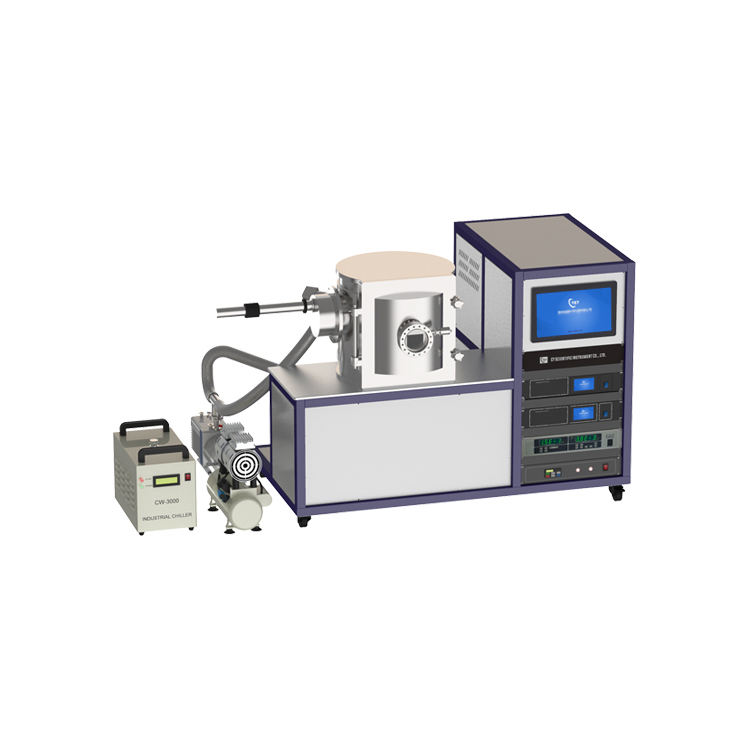 Dual target magnetron sputtering coater with reciprocating sample stage