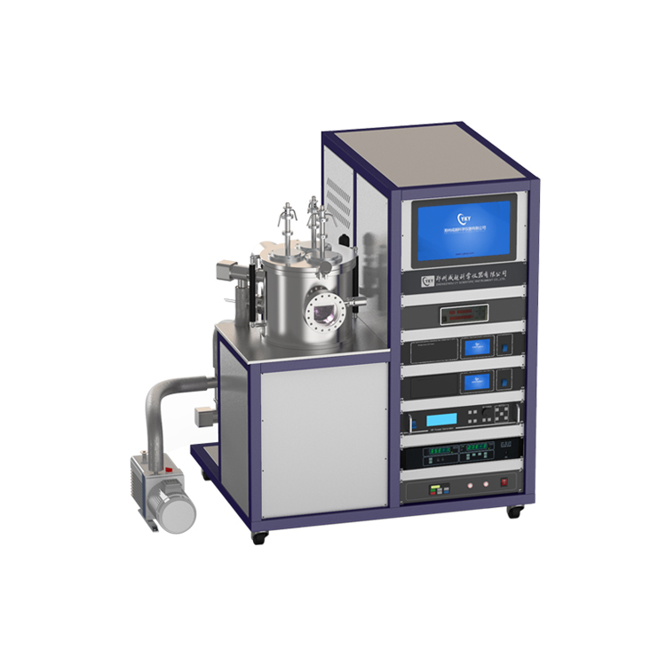 Three targets DC magnetron sputtering coater CY-MSP300S-3DC