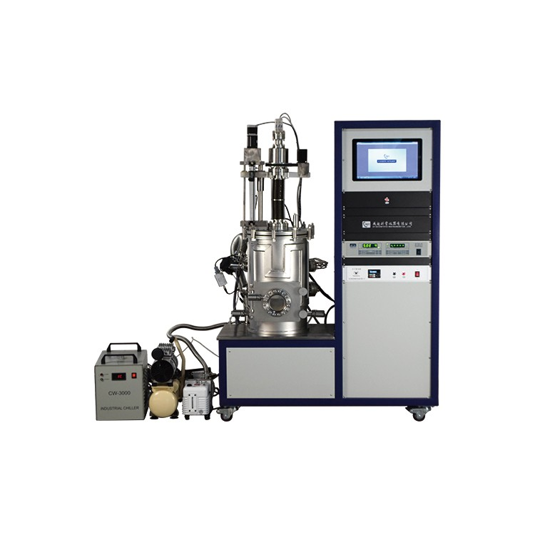 Four sources high vacuum thermal evaporation coater