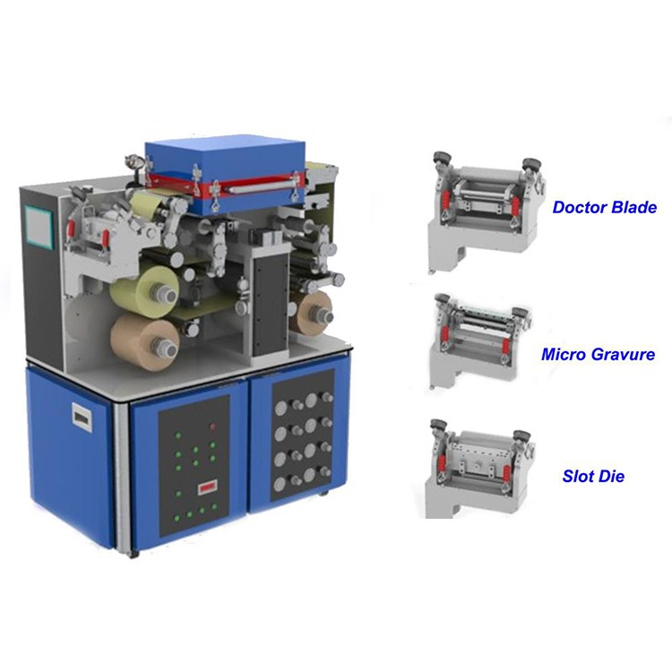 Small versatile optional roll to roll coater