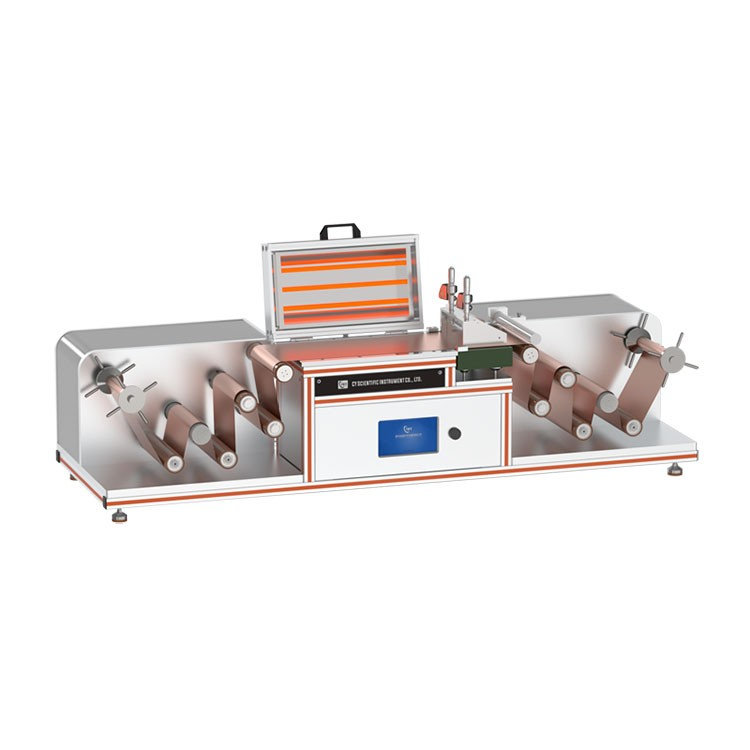 Lithium battery roll to roll film coating machine