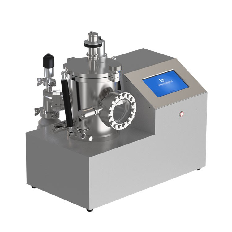 Desktop thermal evaporation coater with stainless steel cavity