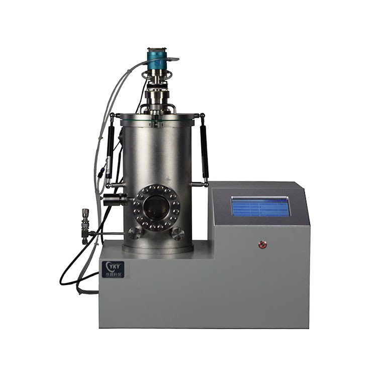 Desktop thermal evaporation coater with water cooled sample table