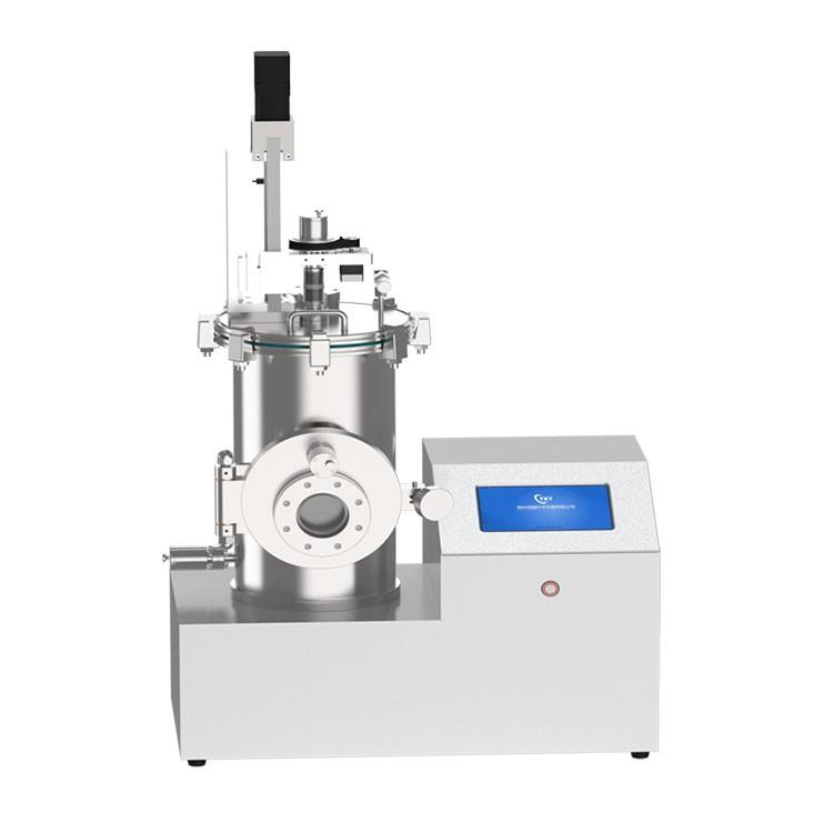 Desktop thermal evaporation coater with electric lifting sample platform