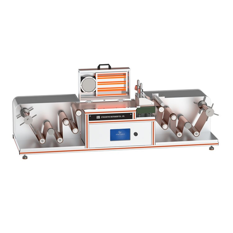 Special roll to roll heating coating Machine for lithium battery
