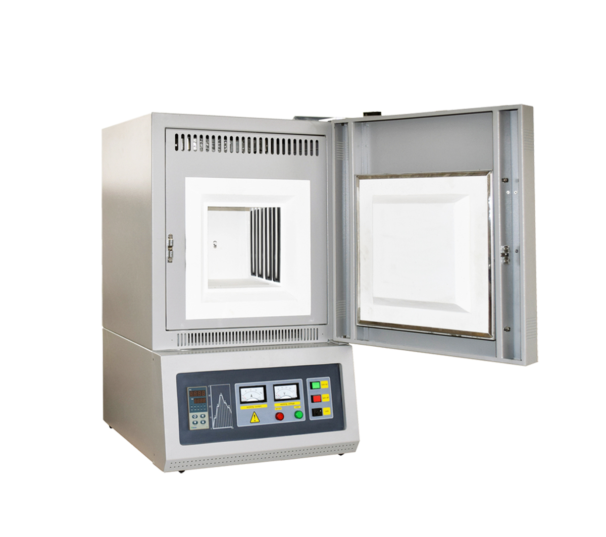 Laboratory 1400℃ High Temperature Muffle Furnace with SiC heating rod-CY-M1400-8L