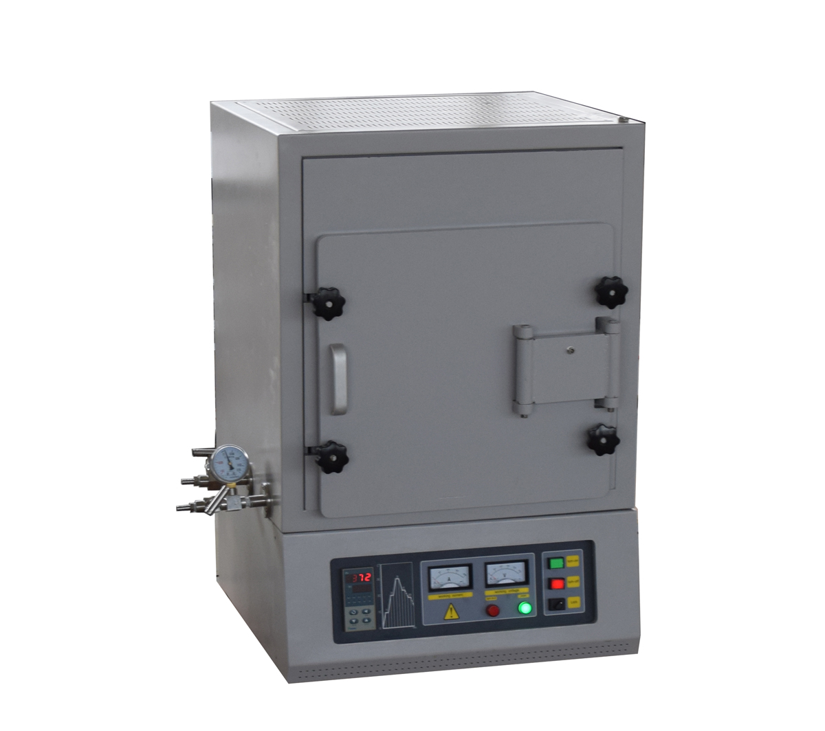 Compact 1600℃ atmosphere muffle furnace with water cooling system CY-A1600-3IC