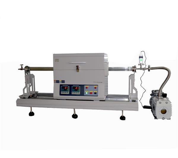 Laboratory cvd mos2 thin film preparation sliding two zone rtp tube furnace CY-O1200-50IIC-RTP