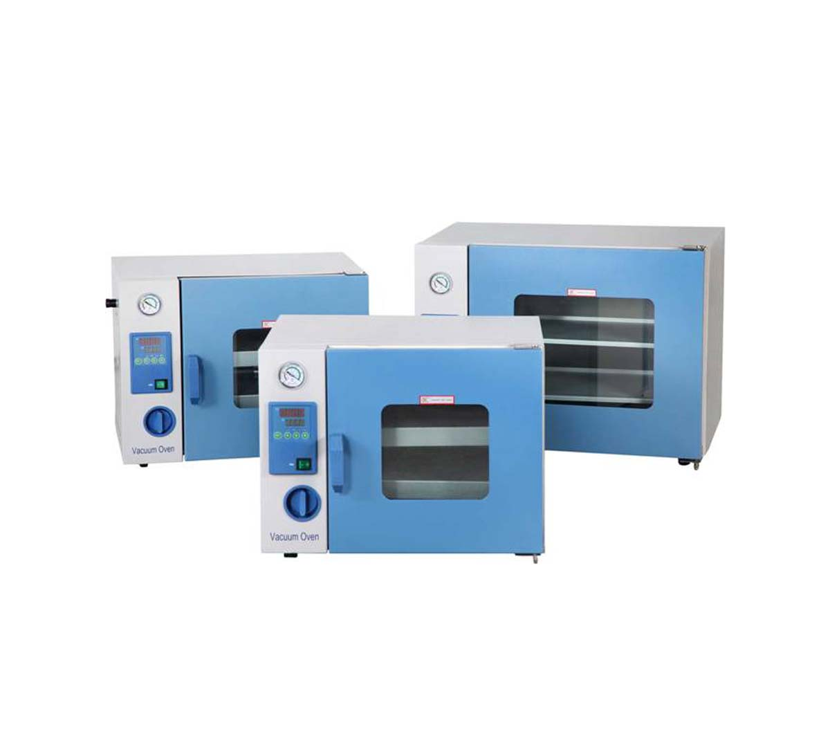 Laboratory 200°C Vacuum Oven with Digital Temperature Controller up to 133Pa