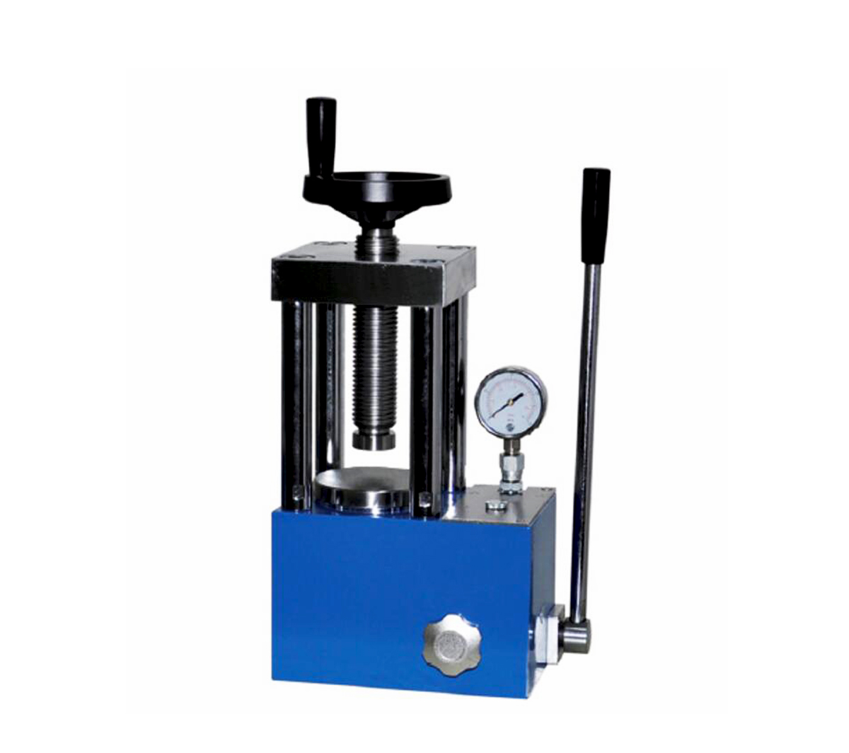 24T manual powder hydraulic press CY-PC-24
