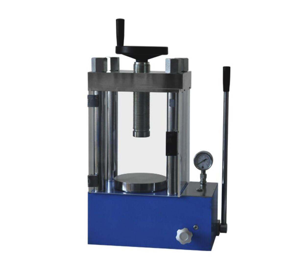 60T Laboratory Manual Hydraulic Press with PMMA Cover CY-PC-60F