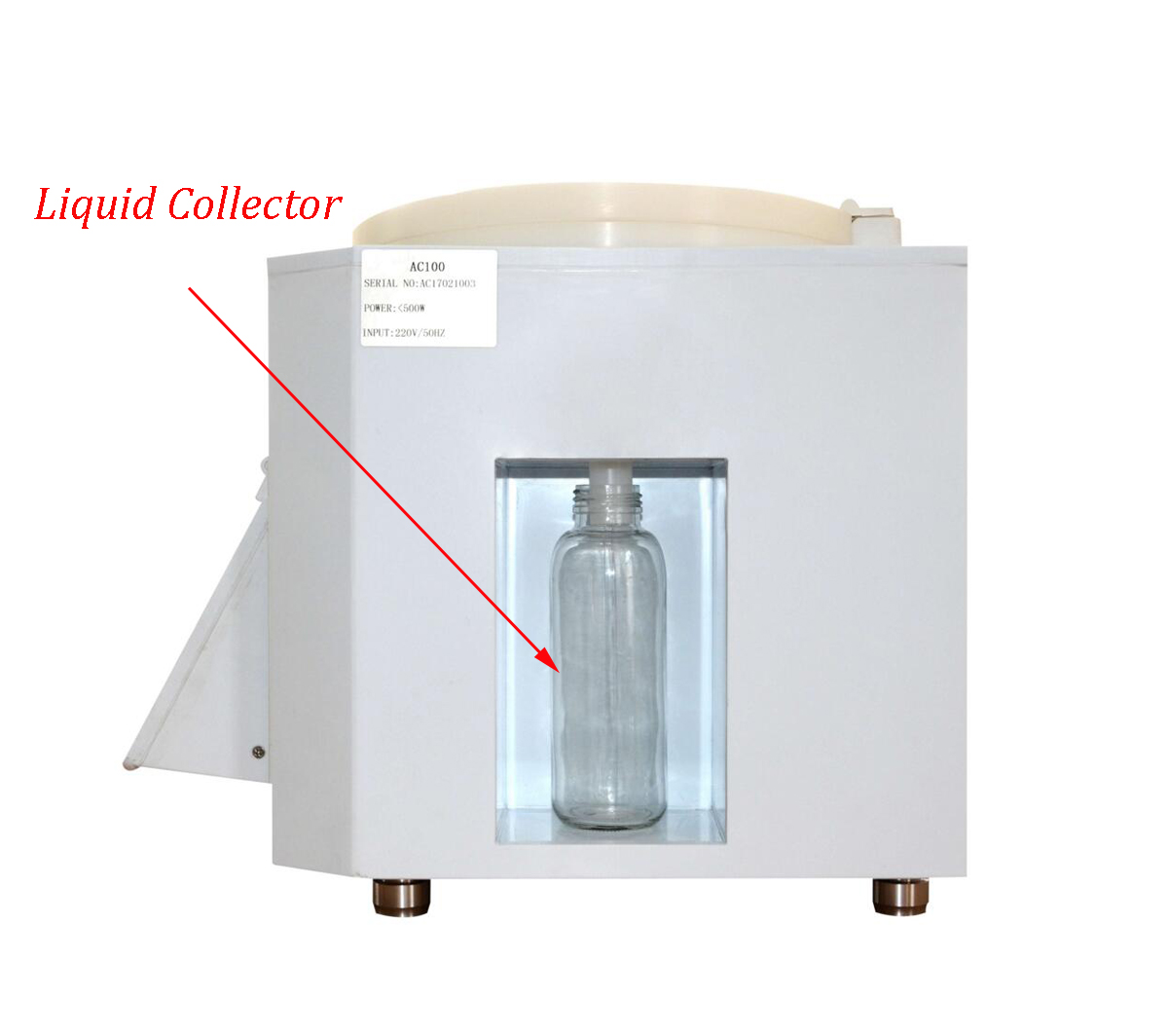 """8"""" Intelligent PLC Control Vacuum Spin Coater with Oiless Vacuum Pump CY-AC100"""