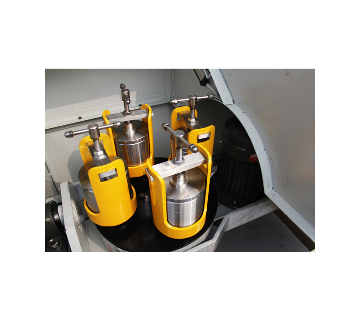 Bench-Top Planetary Ball Mill with four Stainless Stell Jars & Lock Clamps CY-PBM-V-0.4L