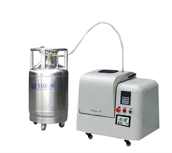 Low Temperature Liquid Nitrogen Cryogenic Mill CY-YDQM-2L