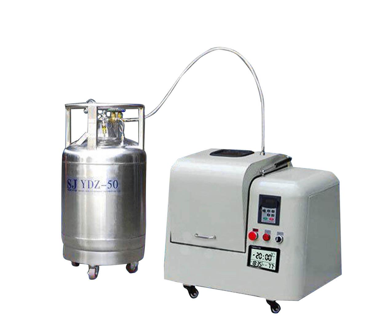 Low Temperature Liquid Nitrogen Cryogenic Mill CY-YDQM-2L