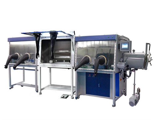Multi-Chamber Glove Box with Gas Purification System (H2O&O2< 1ppm)