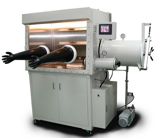 Dry Glove Box with Humidity Purification System (H2O < 1 ppm) for Li-ion Battery Research - Vgb-7h2