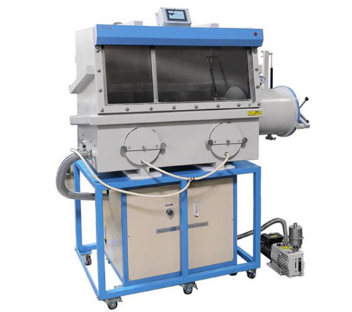 Battery Vacuum Glove Box with Automatic Humidity Purification
