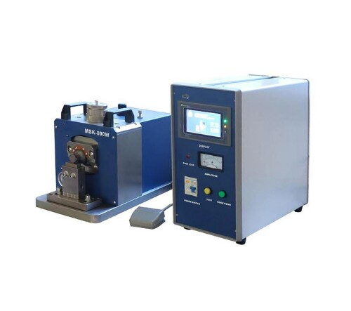 Desk-Top 800W Ultrasonic Metal Welder (Tabbing) with Touch-Screen Digital Controller, 40kHz
