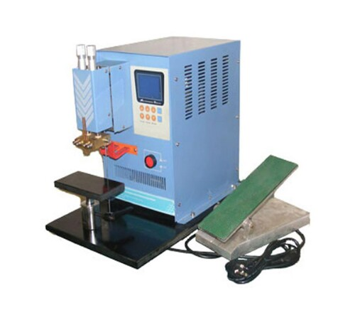 Desk-Top Micro-Computer Control Capacitive Discharge Spot Welder (Electric Pedal Type)