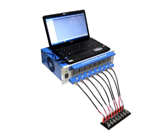 8 Channel Battery Charge Discharge Electric Tester with Software