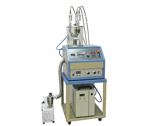 """3 Heads Compact 1"""" RF Plasma Magnetron Sputtering Coater, with DC Magnetron Sputtering Option"""