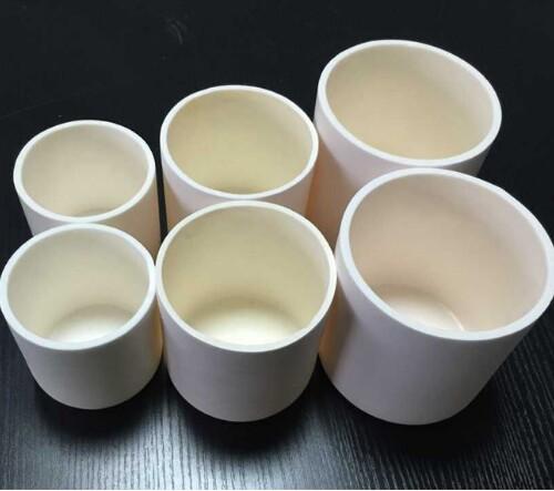 High Temperature Purity Ceramic Crucible/Alumina Crucibles Boat for Tube Furnace